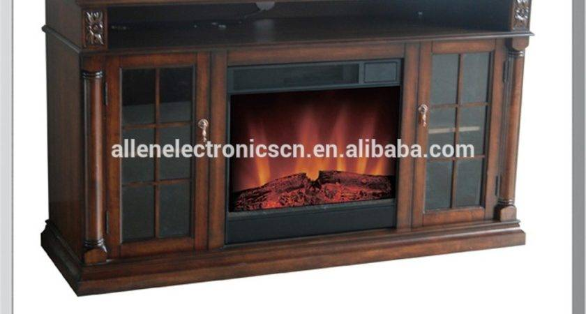 Led Display Electric Fireplace Stands Buy