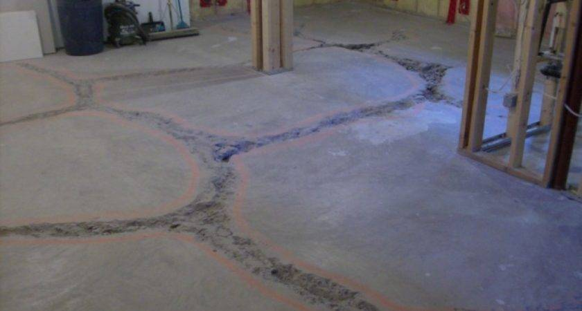 Level Basement Floor Best Flooring Concrete