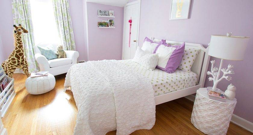 Lilac Mint Big Girls Room Honest Nod
