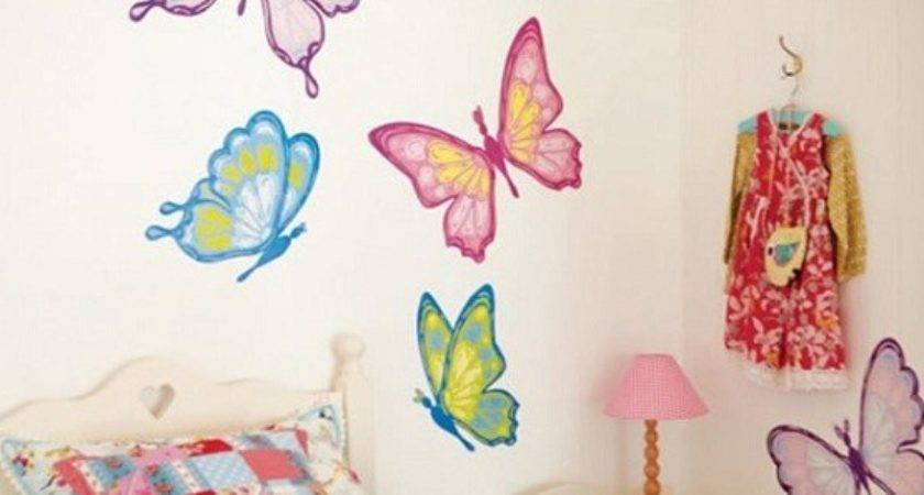 Little Girls Bedroom Decorating Ideas Wall Stickers