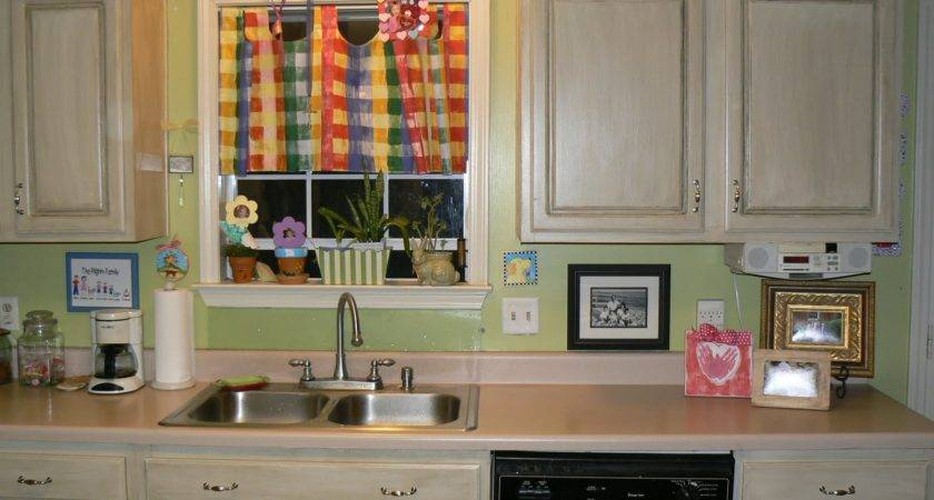 Littlepilgrims Painted Glazed Kitchen Cabinets