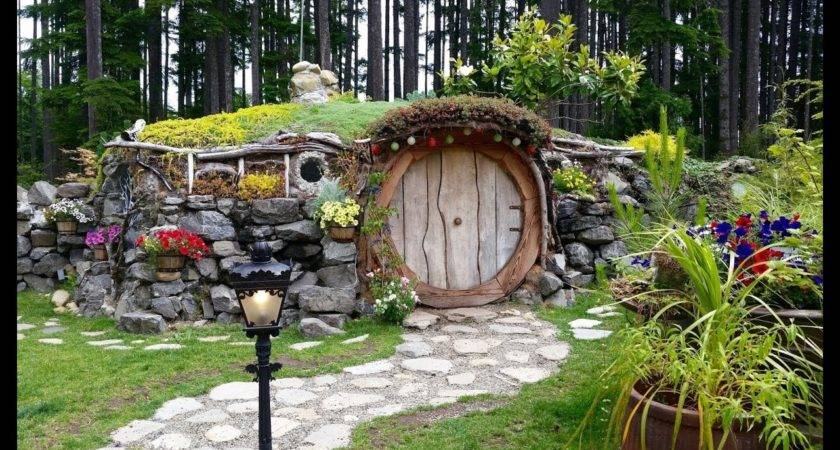 Live Real Life Hobbit House Lord Rings Youtube