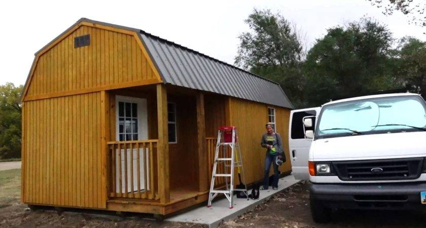 Living Off Grid Tiny Shed First Look
