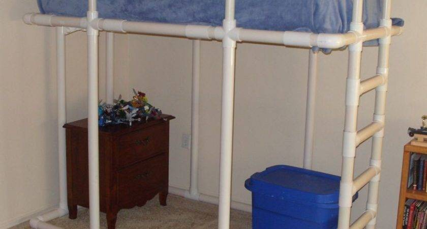 Loft Bed Made Pvc Water Pipe
