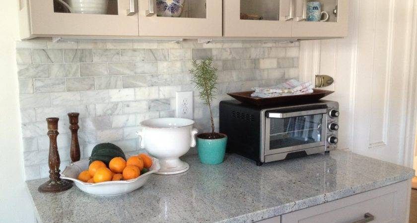 Loft Cottage Marble Backsplash