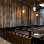 London Restaurant Resembling Ramshackle Farm Building