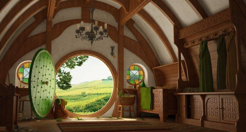 Lord Rings Bag End Shire Interiors