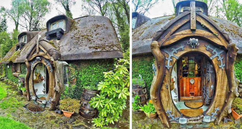 Lord Rings Fan Builds His Own Hobbit House
