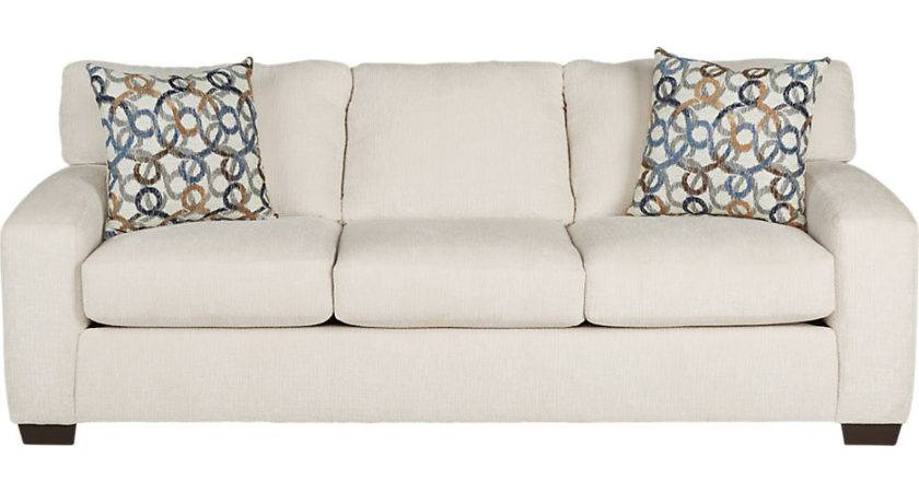 Lucan Cream Sleeper Sofa Sofas Beige