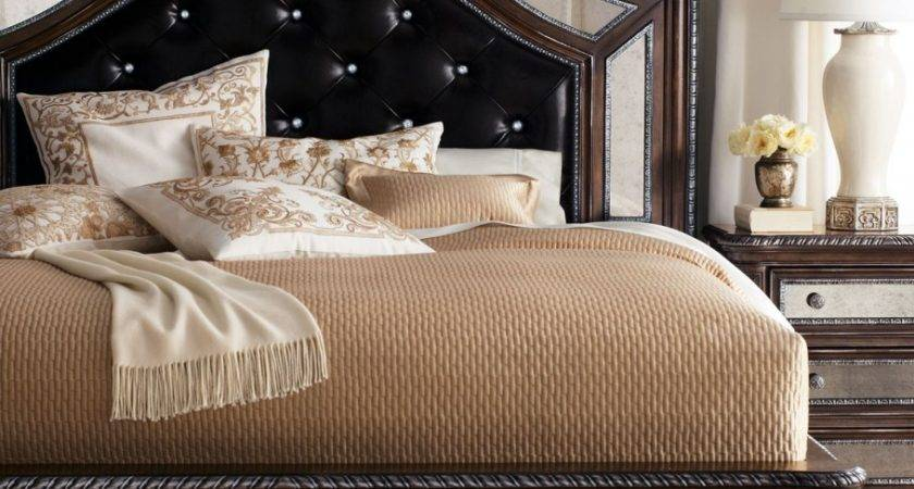 Luxurious Headboard Modern Bedroom Elegant Shaping
