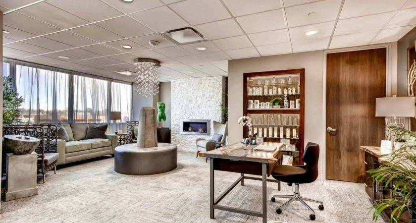 Luxury Apartment Home Office Modern Waiting Room