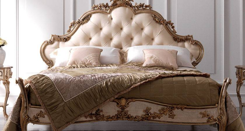 Luxury Ornate Carved Rococo Bed Juliettes Interiors