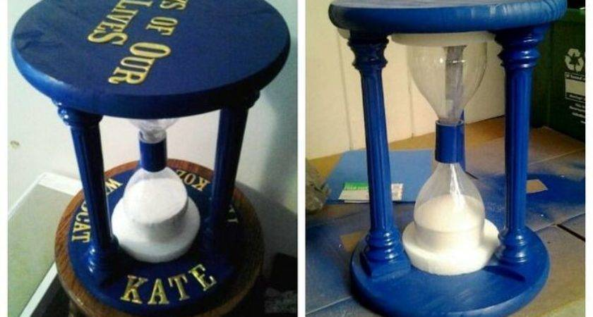 Make Sandglass Time Out Stool Craft Projects