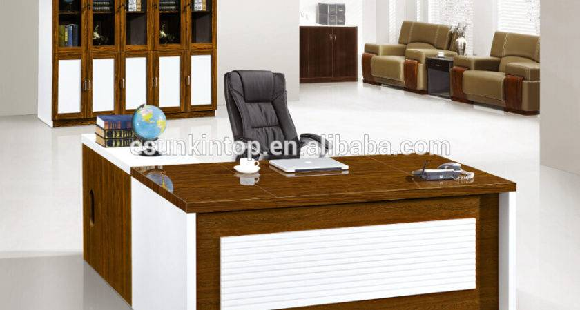 Manager Office Table Designs Wood Computer