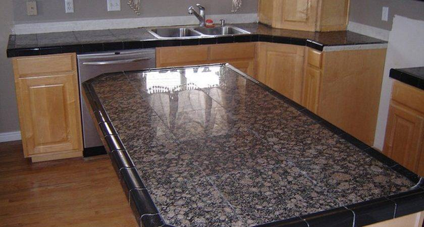 Marble Tile Counter Top Best Latest Tiles Countertops