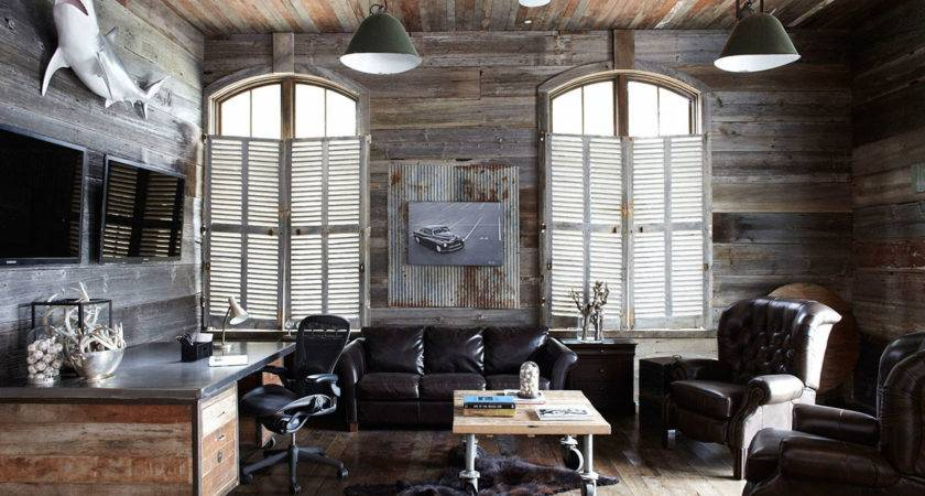 Masculine Man Cave Decorating Ideas Home Decor