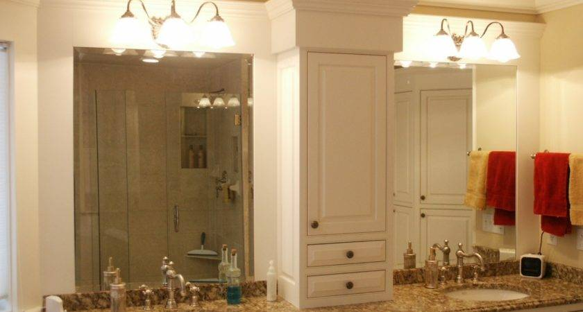 Master Bathroom Cabinet Ideas Luxury