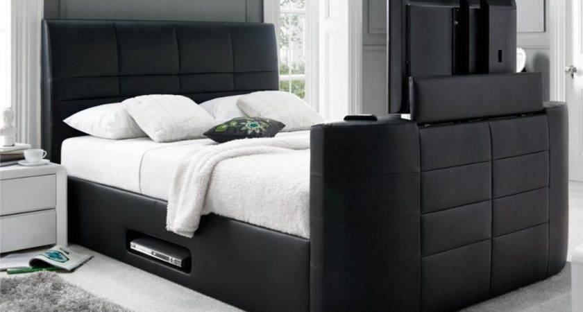 May Sale Kingsize Leather Bed Frame Quilt