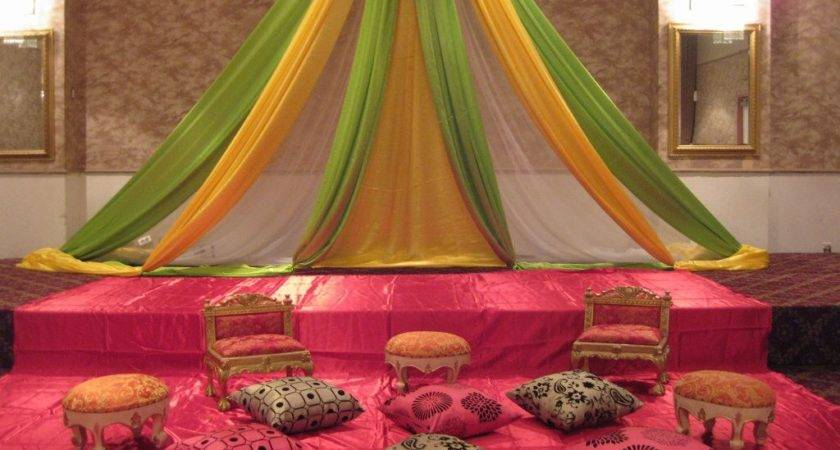 Mehndi Stage Decoration All Home Ideas Decor