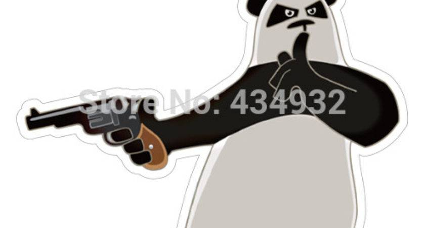 Min Order Mix Funny Panda Gun Waterproof
