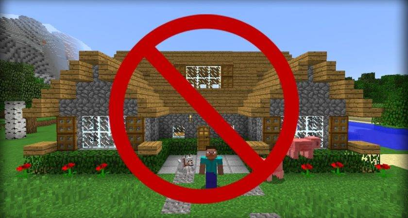 Minecraft Ways Hide Your House Friends Youtube