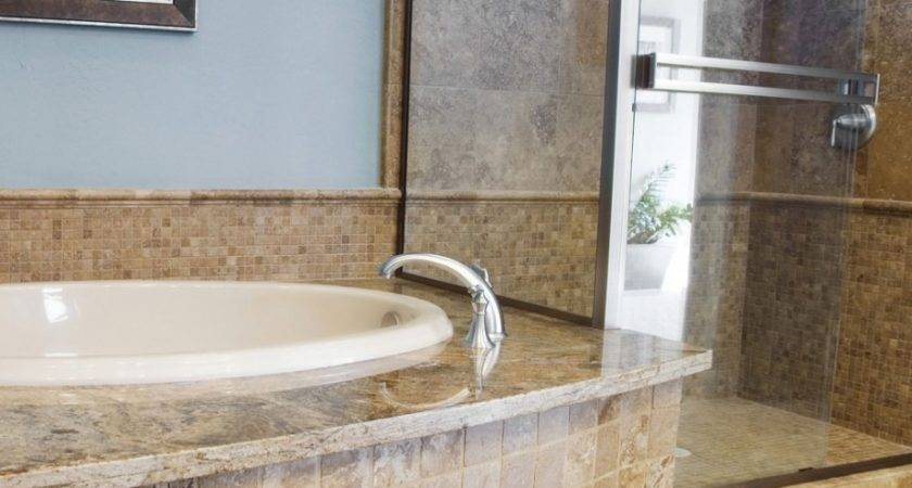 Miscellaneous Bathroom Tile Granite Wall