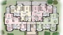 Modern Apartment Building Plans Furniture