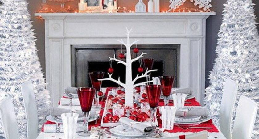 Modern Christmas Table Decorations World Inside