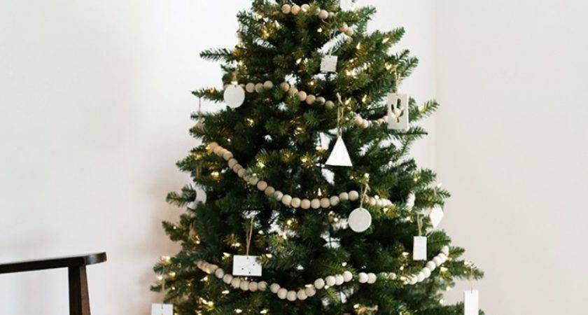 Modern Christmas Trees Get Inspired Season