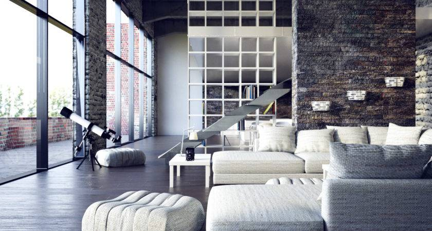 Modern City Loft Interior Design Ideas
