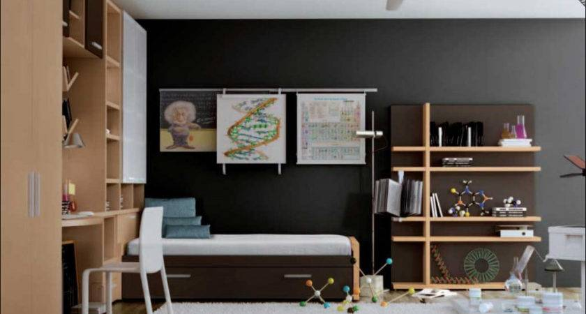 Modern Design Teenage Boys Room Inspirations
