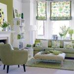 Modern Furniture Decorating Living Room Mint Green