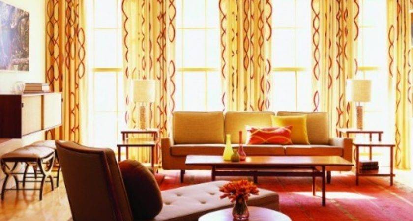 Modern Furniture Living Room Curtains Design Ideas