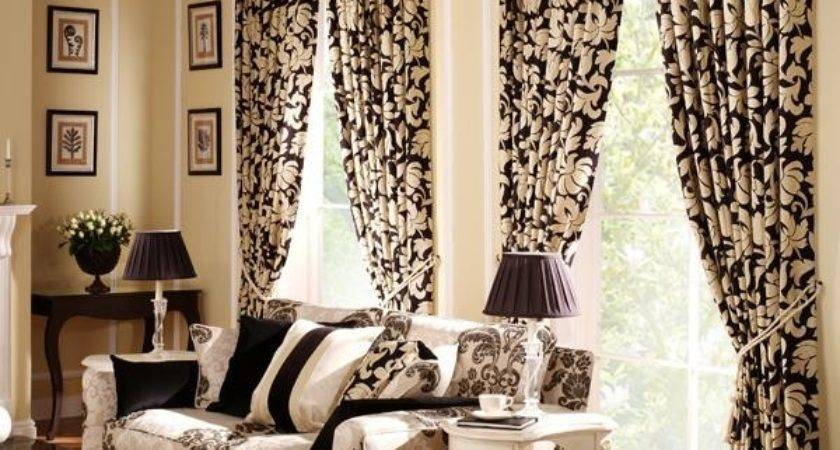 Modern Furniture Living Room Curtains Ideas