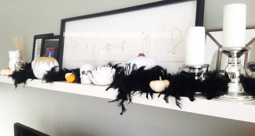 Modern Halloween Decor