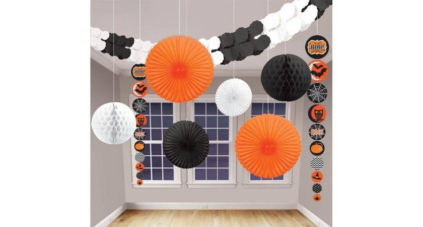 Modern Halloween Decorating Kit Birthdayexpress
