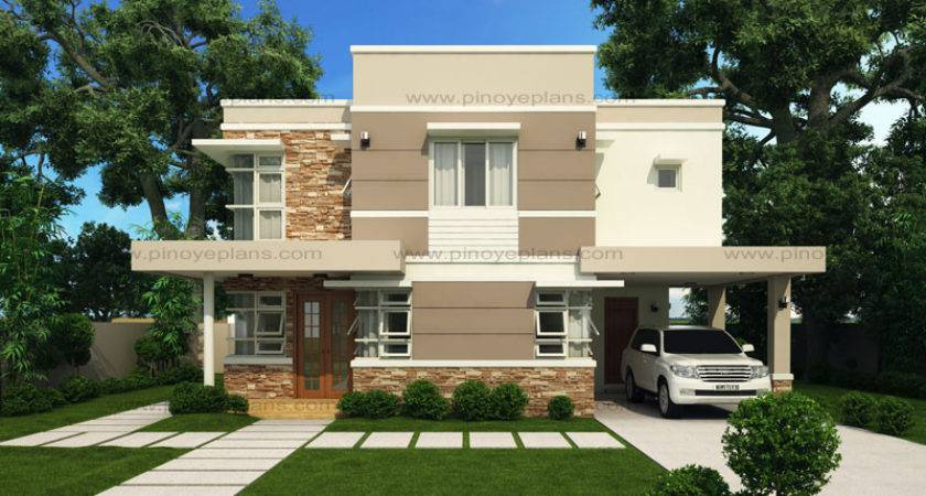 Modern House Design Series Mhd Pinoy Eplans Plans