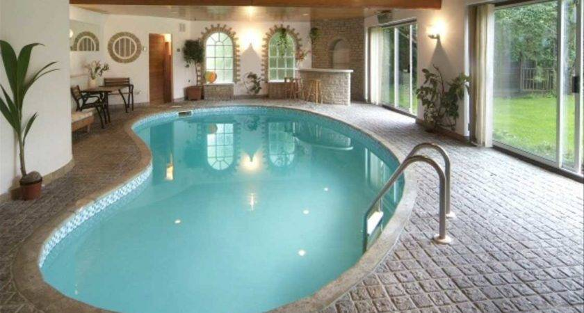 Modern Indoor Swimming Pools Design Ideas Home Interior