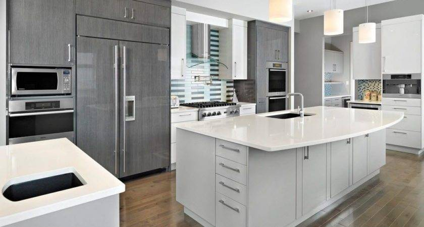 Modern Kitchens Glossy Cabinets Refacing