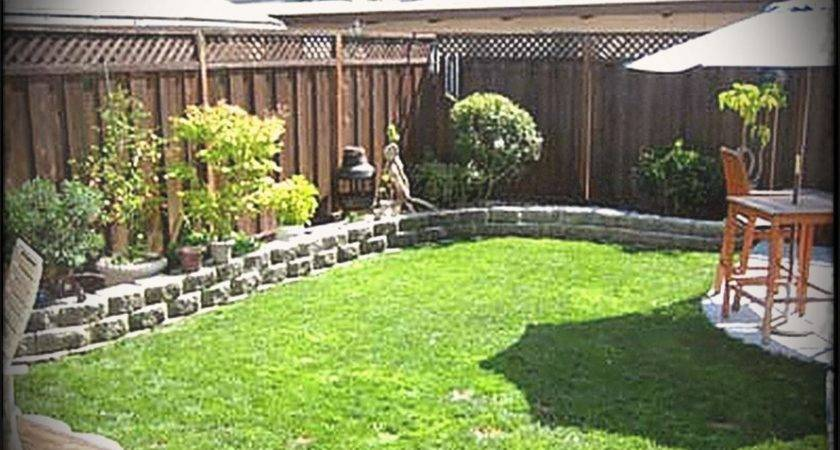 Modern Landscaping Ideas Small Backyards Dogs
