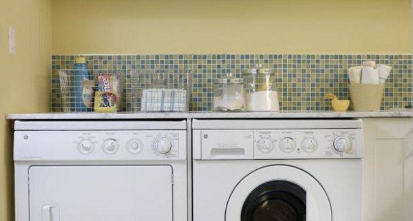 Modern Laundry Room Cabinets Practical Storage