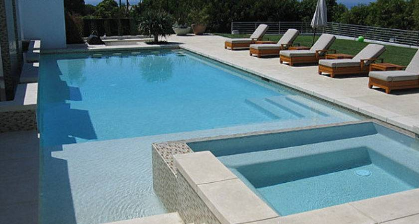 Modern Pool Terrace Decoist