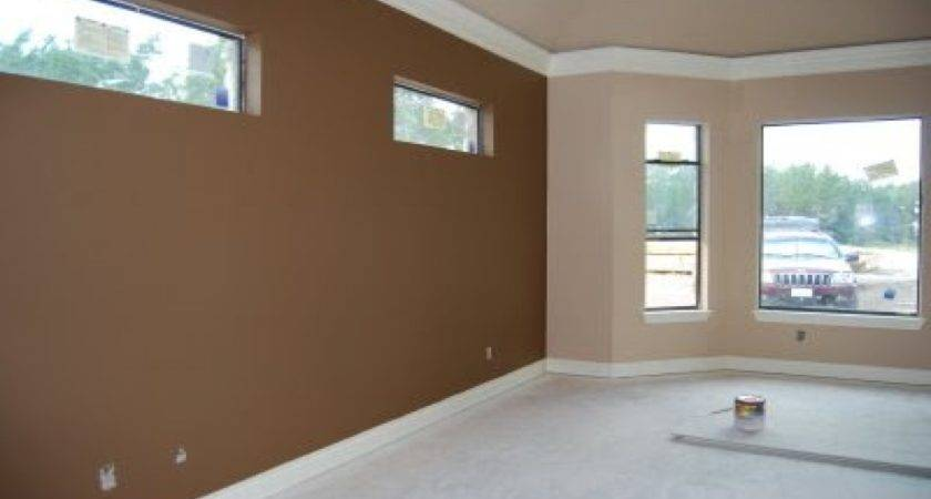 Modern Room Paint Ideas Brown Painted Rooms Color