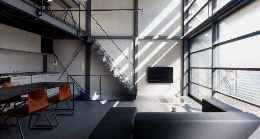 Modern Steel Framed Home Super Minimalist Interior