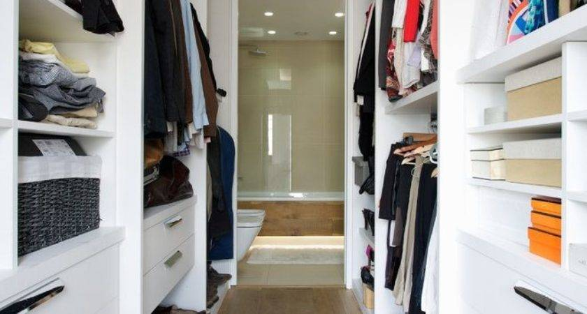 Modern Walk Closet Contemporary