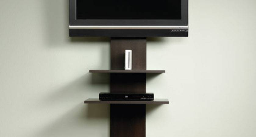Modern Wall Mount Stand Entertainment Media Center