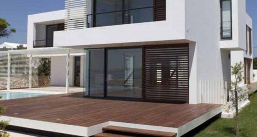 Modern White Wood Houses Ideas Inspirations Aprar