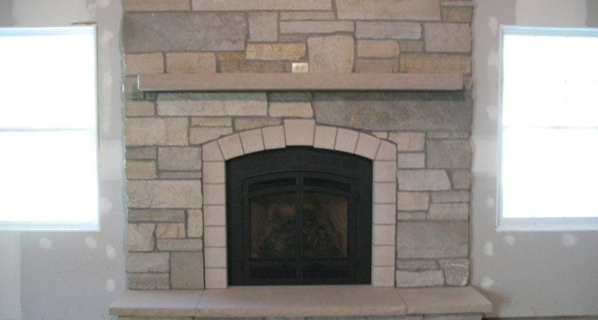 More Stone Fireplaces Basement