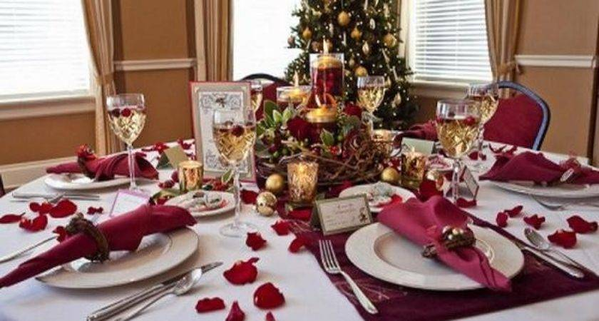 Most Amazing Christmas Table Decorations