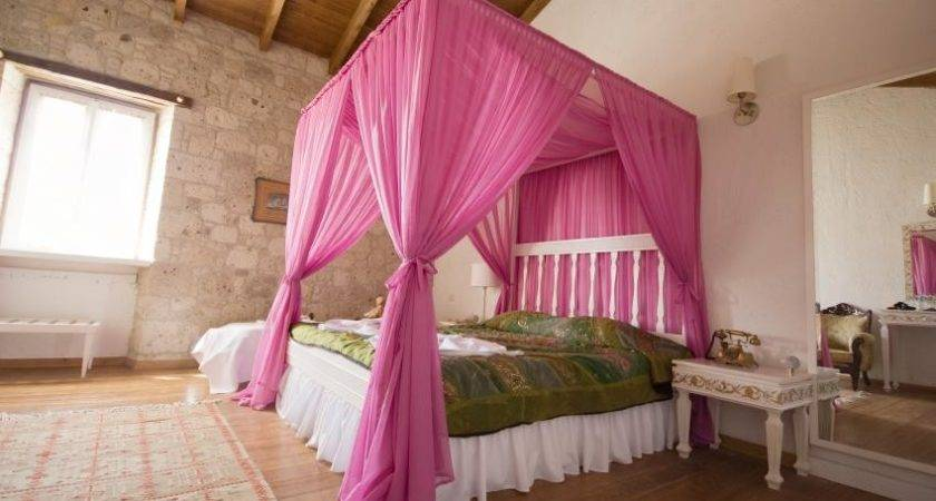 Most Beautiful Canopy Bed Curtains Housely